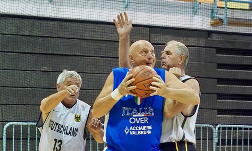 Maxibasket: Azzurri Over 70 e 65 in festa a San Bonifacio
