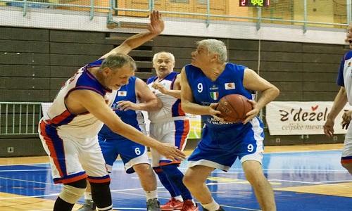 Maxibasket, Europei: argento per l'Italia Over 70