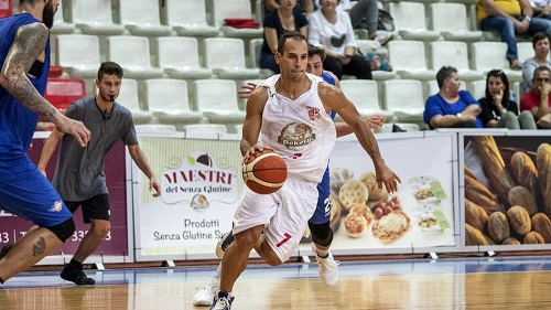 Basket, colpo Juvecaserta: arriva Nicolas Manuel Stanic