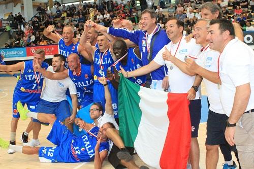 Mondiali Maxibasket – Per l'Italia Over 50 oro e applausi
