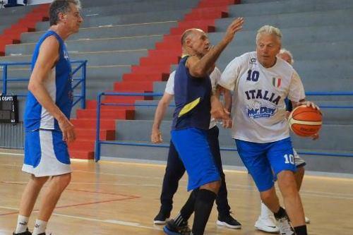 Basket, Azzurri Maxi – Over 65: l'anno della riscossa