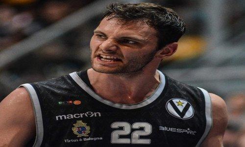 Basket, Virtus Bologna: strappo muscolare per Stefano Gentile