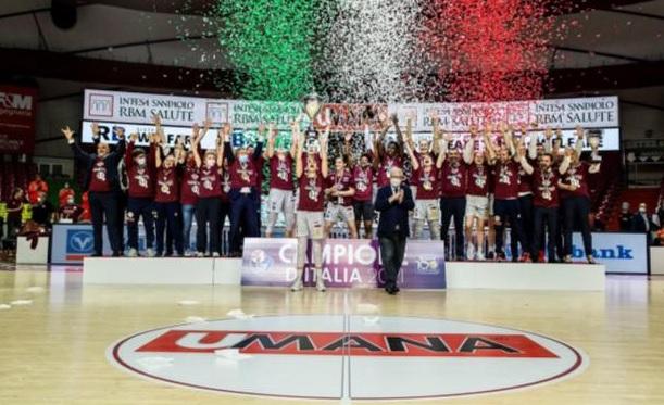 Umana Venezia batte Schio ed è campione d'Italia