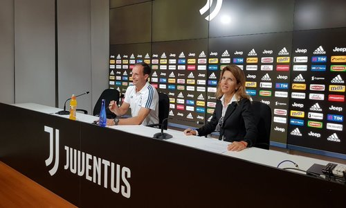 "Juventus, Allegri: ""Voglio 95 minuti di intensità. Out Buffon e Chiellini"""
