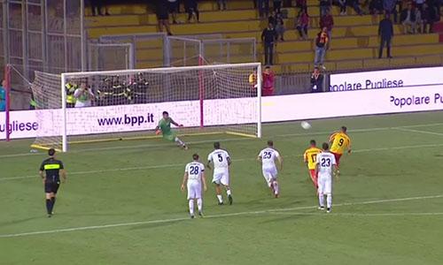 Serie B, rimonta Benevento: col Lecce è 3-3