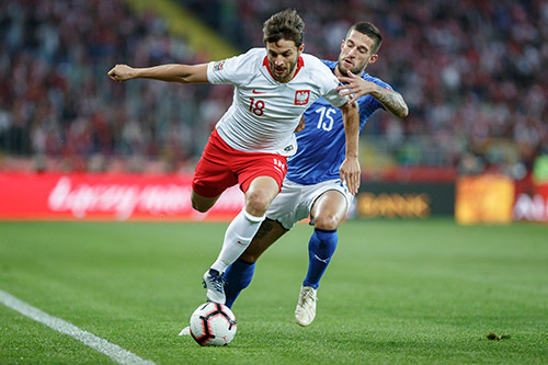Nations League, Polonia-Italia 0-1: decide Biraghi al 92'
