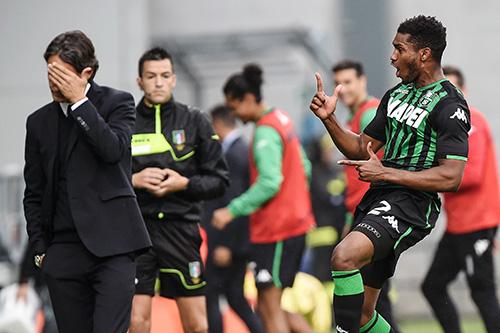Sassuolo-Bologna 2-2, Marlon e Boateng rispondono a Palacio e Mbaye