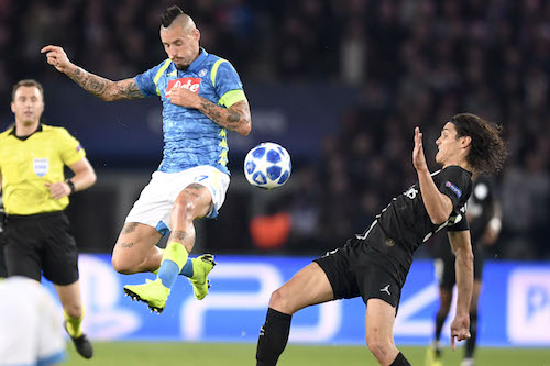 Champions League, Psg-Napoli 2-2