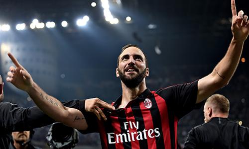 Il Milan ritrova Higuain: 2-1 alla SPAL, rossoneri quinti