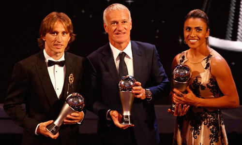 Fifa, è Modric il miglior giocatore del 2018
