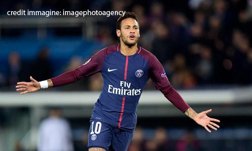 Ligue 1: Neymar e Cavani lanciano il Psg, Marsiglia al secondo posto
