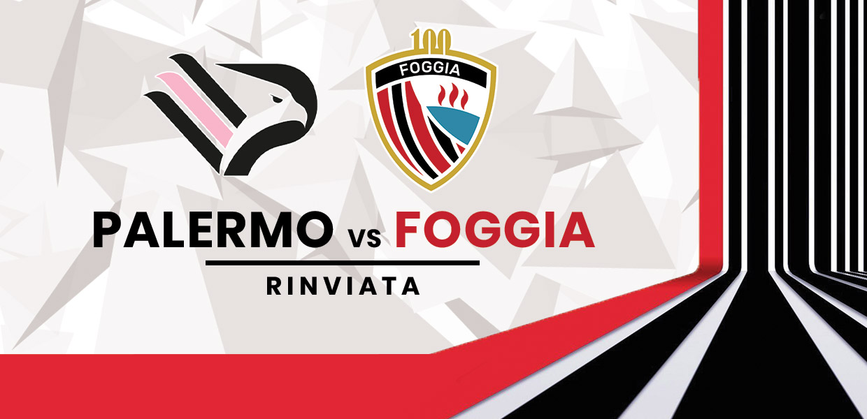 Rinviata Palermo-Foggia per focolaio Covid