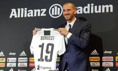 Champions, Bonucci regala due biglietti per Juve-Young Boys