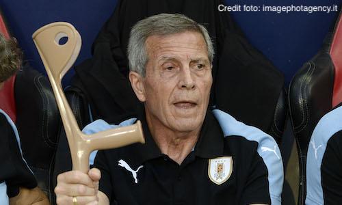 Uruguay, ufficiale: il ct Tabarez rinnova fino al 2022