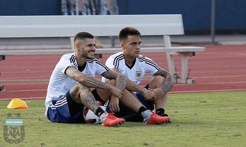 Inter: Icardi-Lautaro verso il recupero, ma salteranno la prima amichevole con l'Argentina