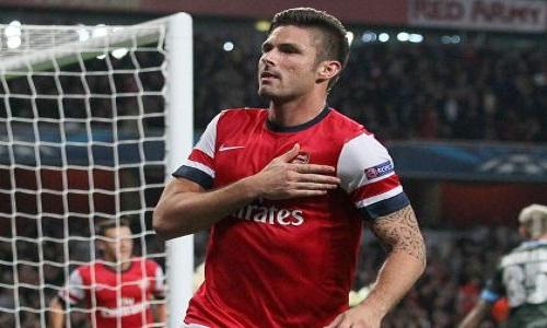Europa League: Giroud fa volare l'Arsenal, ok Mancini e Rudi Garcia
