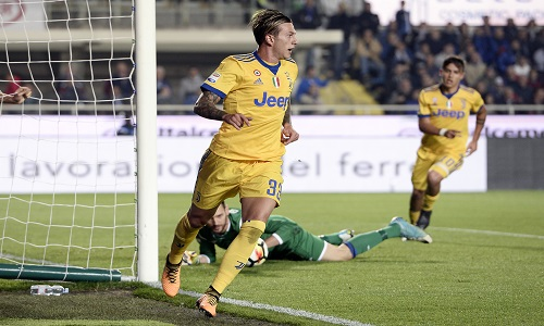 Juventus, tegola Bernardeschi: out contro l'Atalanta