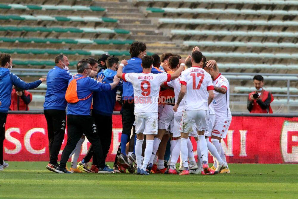 Il Bari passa il turno, per il Foggia un campionato soddisfacente