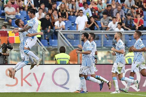 Serie A, Roma-Spal 0-2. Quanti fischi all'Olimpico