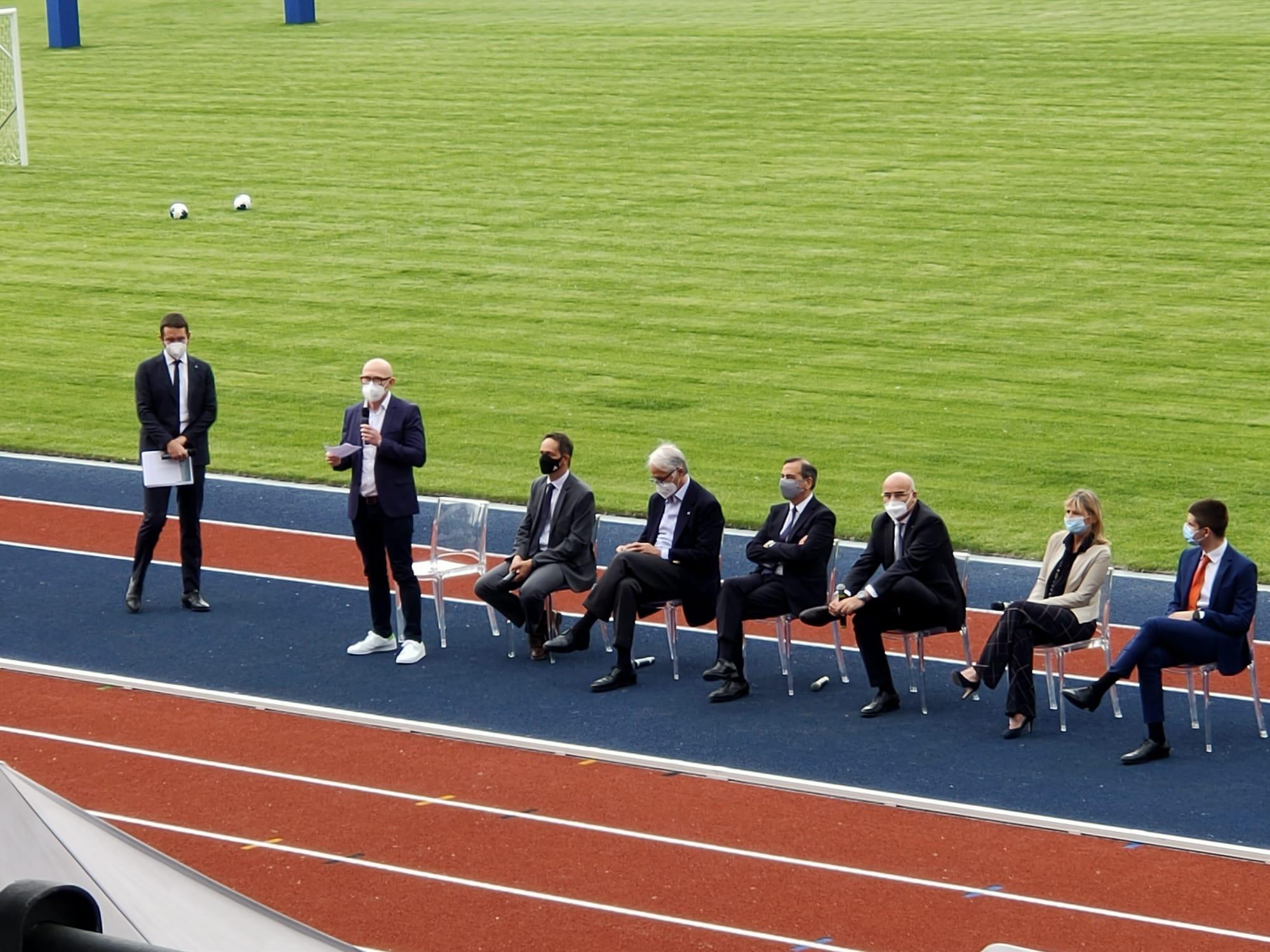 L'inaugurazione del Centro sportivo Giuriati nel Campus Leonardo del Politecnico