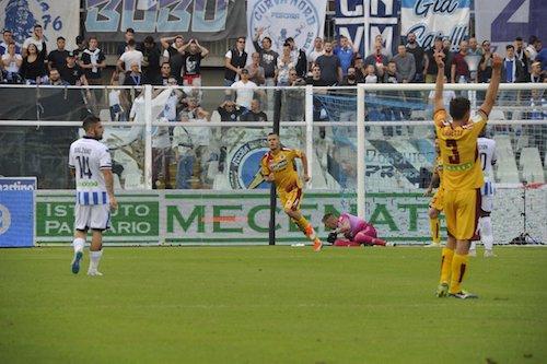Serie B, Pescara ko con il Cittadella. Il Benevento stende la Cremonese