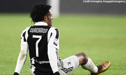 Juventus, Cuadrado si è operato: fuori tre mesi