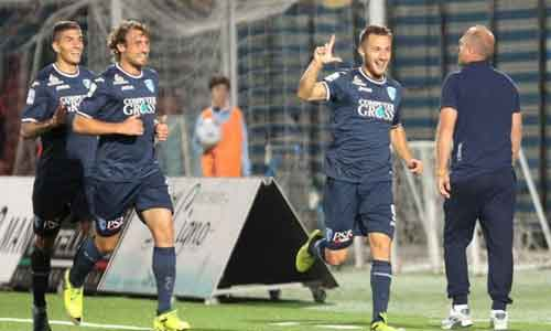 Serie B: colpo Empoli, Frosinone stop, Palermo poker