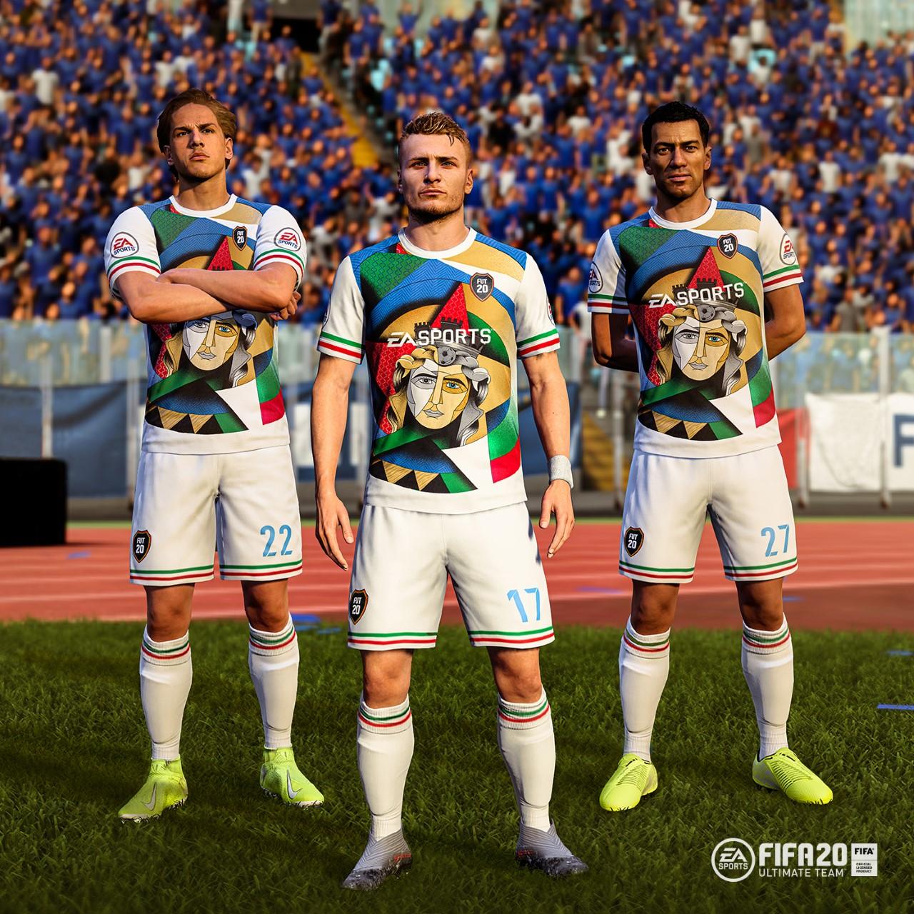 Esports - Fifa 20 celebra l'Italia: in Ultimate Team divisa che ricorda l'Anniversario dell'Unità