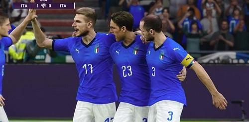 Per l'Italia quattro vittorie e una sconfitta nell'andata delle qualificazioni a eEURO2021