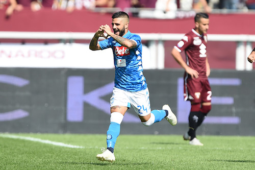Serie A, Torino-Napoli 1-3. Insigne stende Mazzarri