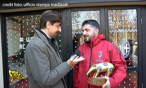 Serie A: Gattuso si becca il Tapiro d'Oro