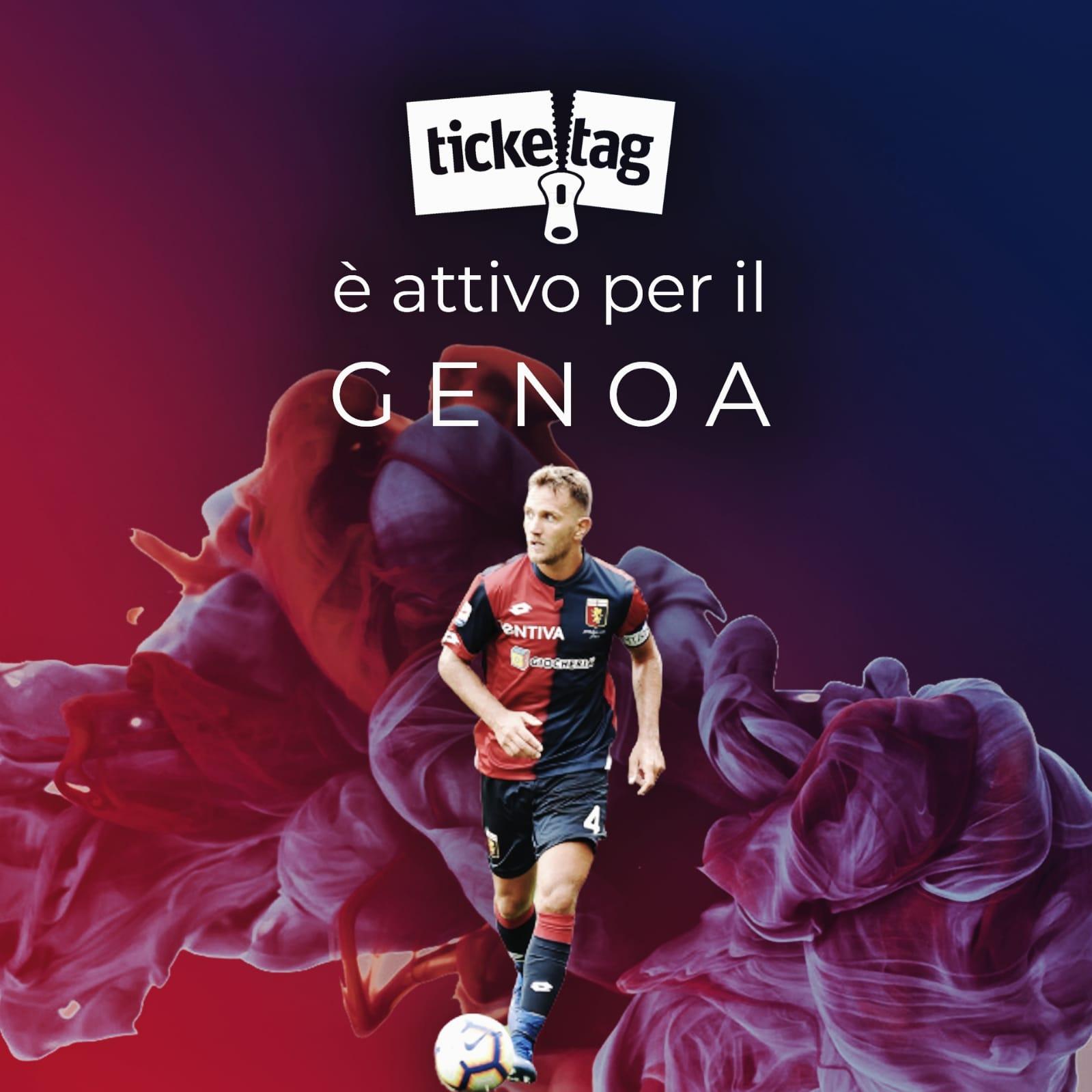 Biglietti Serie A, Ticketag si espande: da oggi è disponibile anche per il Genoa