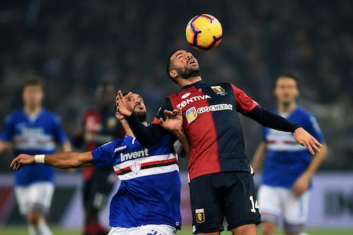 Serie A, Genoa-Sampdoria 1-1