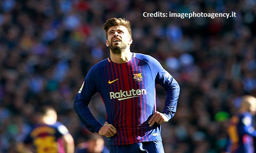 Barcellona, in auto senza patente: maxi-multa per Piqué