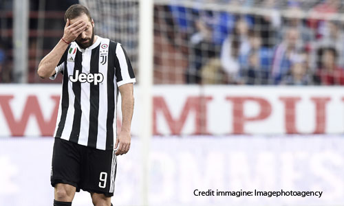 Juventus, Higuain salta il Napoli