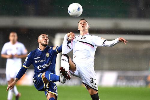 Serie B, Hellas-Palermo 1-1