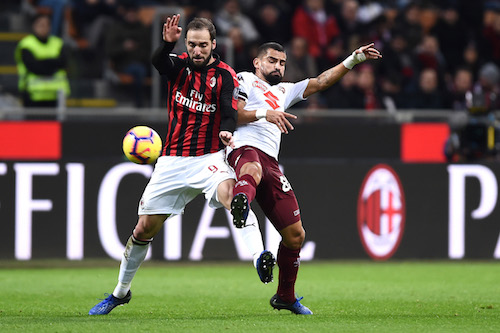 Serie A, Milan-Torino 0-0, niente scatto Champions per Gattuso