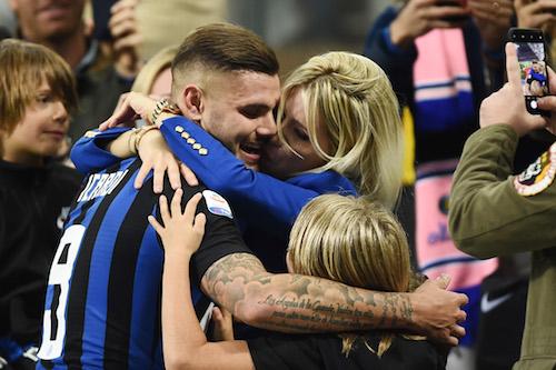 Inter, Icardi difende Wanda: