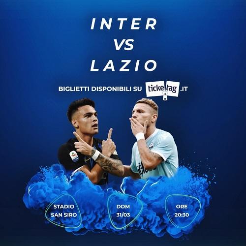 Vuoi acquistare o vendere biglietti per Inter-Lazio? Scopri come con Ticketag