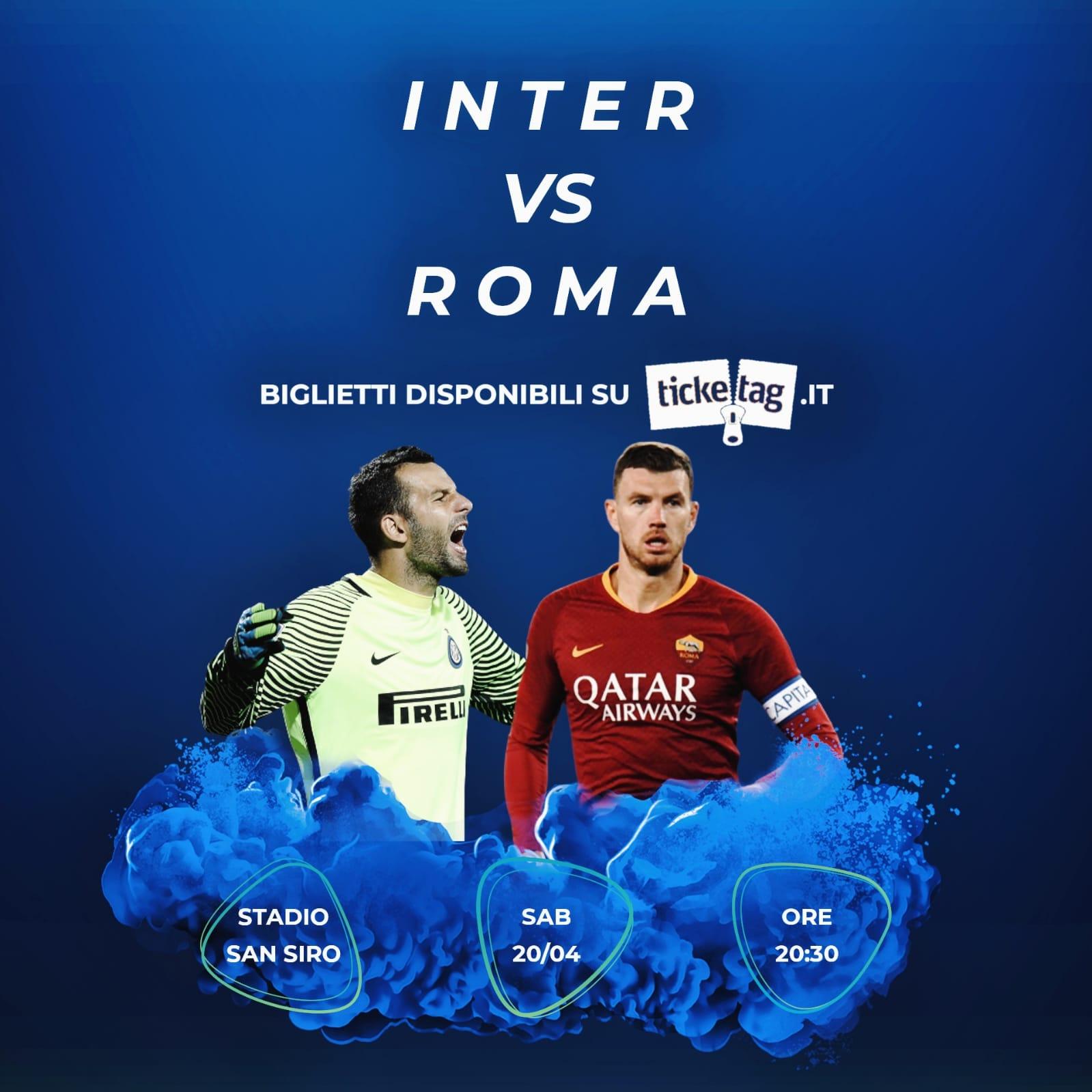 Vuoi acquistare o vendere biglietti per Inter-Roma? Scopri come con Ticketag