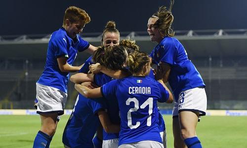 Nazionale femminile, l'Italia batte la Svezia 1-0