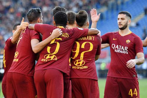 Serie A, Roma-Sampdoria 4-1