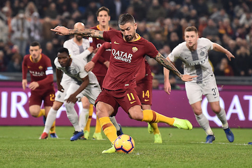 Serie A, Roma-Inter 2-2: Under e Kolarov fermano Spalletti