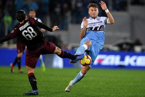 Serie A, Lazio-Milan: 1-1 all'ultimo respiro
