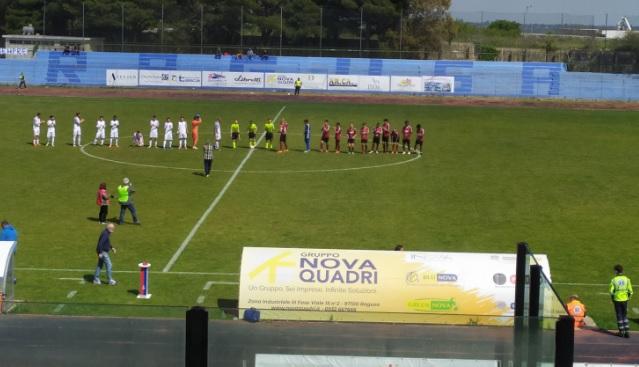Marina di Ragusa-Roccella 3-2: il resoconto del match