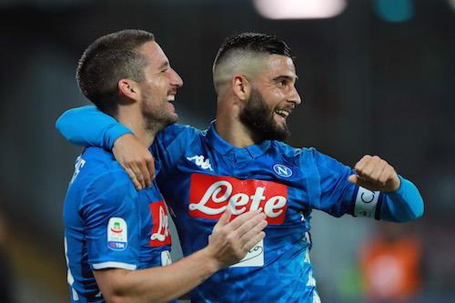 Serie A, Napoli-Empoli 5-1, tripletta di Mertens