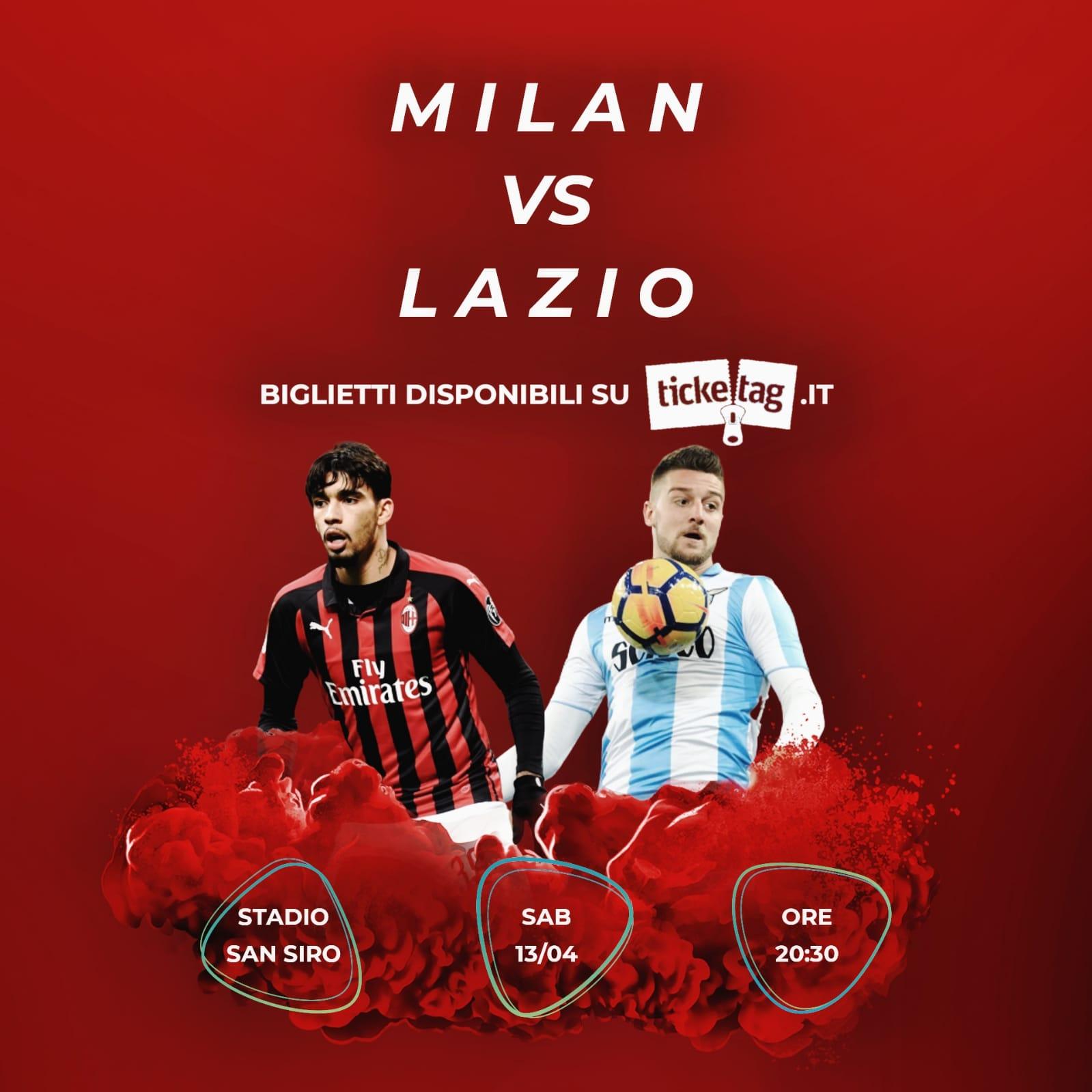 Vuoi vendere biglietti per Milan-Lazio? Scopri come con Ticketag