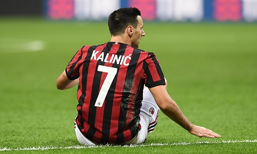 Milan, ufficiale: Kalinic è un nuovo giocatore dell'Atletico Madrid