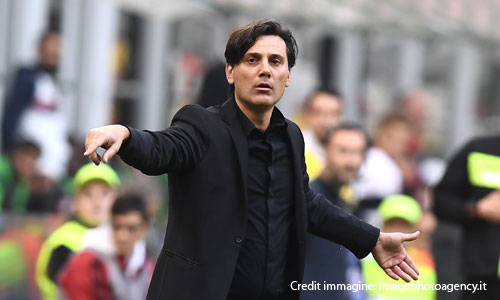 Milan, Montella in tackle:
