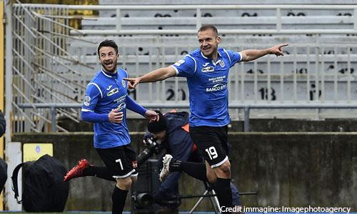 Coppa Italia, Marconi al fotofinish: il Novara supera il Pisa e vola agli ottavi